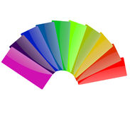 Spectrum Color of Rainbow stock image