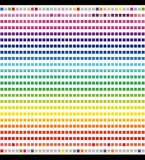Spectrum of colors Royalty Free Stock Photo