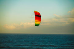 Spectrum Dual Line Traction Kite 11 stock photo