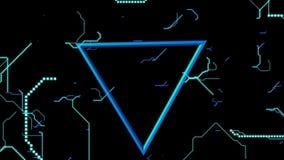 Spectrum electro on dark background video