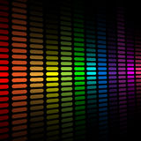 Spectrum equalizer background Stock Images