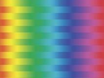Spectrum gestripte achtergrond Royalty-vrije Stock Afbeeldingen