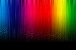 Spectrum glowing background. Royalty Free Stock Photos