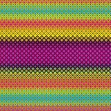 Spectrum Grid Tile CMYK Colors Striped Vector Print Texture Background Pattern. Spectrum Grid Tile Square CMYK Colors Striped Vector Print Texture Background royalty free illustration