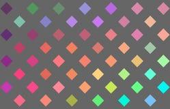 Spectrum holographic mosaic joyful background. Rainbow multicolor abstract pattern. stock illustration