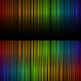 Spectrum of light. Spectrum light abstract background black vector illustration