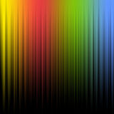 Spectrum with lines Royalty Free Stock Photos