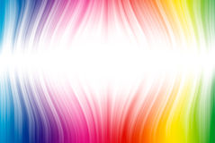 Spectrum lines on white Stock Images