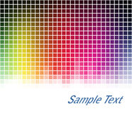 Spectrum mosaic background Stock Photography
