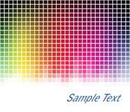 Spectrum mosaic background Stock Photography