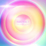 Spectrum music background. Centered composition colorful abstract background stock illustration