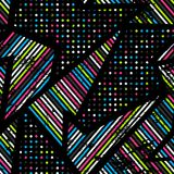Spectrum music seamless pattern Stock Photo