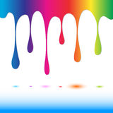 Spectrum paint Royalty Free Stock Photo
