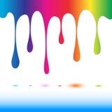 Spectrum paint Royalty Free Stock Photo