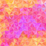 Spectrum Pattern of Rhombus Element Royalty Free Stock Image
