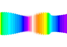Spectrum sound wave Stock Images