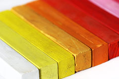 Spectrum - Warm Colors Royalty Free Stock Photos