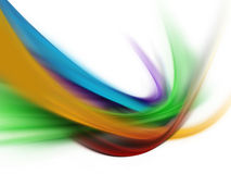 Spectrum wave Stock Photography