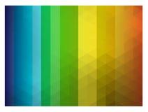 Spectrumkristal backround Royalty-vrije Stock Foto's