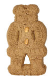 Speculaas figure traditional pastry from Holland Royalty Free Stock Photography