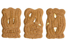 Speculaas ( a typical dutch cookie) Royalty Free Stock Image
