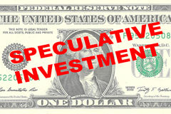 Speculative Investment concept Stock Photo