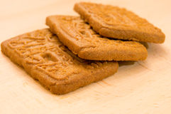 Speculoos biscuits Royalty Free Stock Photography