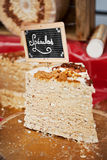 Speculoos Nougat Royalty Free Stock Photo