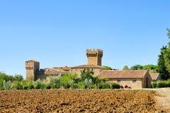 Spedaletto Castello Stock Images