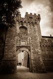 Spedaletto Castle Royalty Free Stock Image