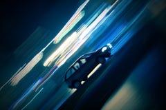 Spedding Auto Lizenzfreies Stockbild