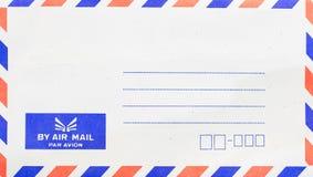 Spedica la busta per posta aerea Fotografia Stock Libera da Diritti