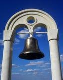 Spedice il vecchio segnalatore acustico bronze Fotografia Stock Libera da Diritti