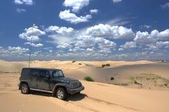 Spedizione del deserto Fotografia Stock Libera da Diritti