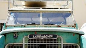 Spedizione di land rover Immagine Stock Libera da Diritti