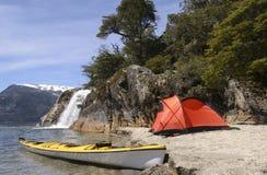 Spedizione nella Patagonia immagini stock