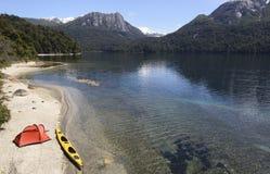 Spedizione nella Patagonia fotografia stock libera da diritti
