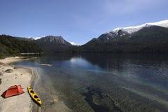Spedizione nella Patagonia fotografie stock libere da diritti