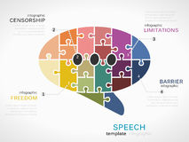 speech Images stock