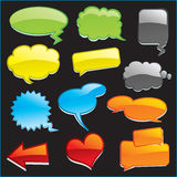 Speech Balloons Royalty Free Stock Image