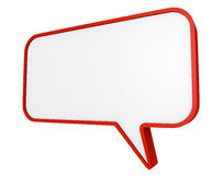 Speech bubble Stock Image