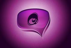 Speech bubble Royalty Free Stock Photo