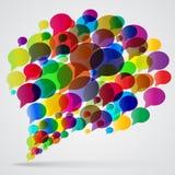 Speech bubble Stock Images