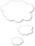 Speech bubble. Drawn on abobe illustrator Royalty Free Stock Photo