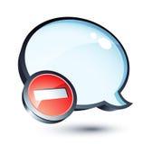 Speech bubble Royalty Free Stock Photography