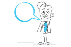 Speech bubble. Abstract design can be used in many jobs Royalty Free Stock Images