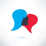 Speech bubble Stock Photo