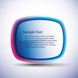 Speech bubble  background Stock Photography