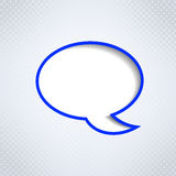 Speech bubble background Royalty Free Stock Image