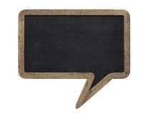 Speech bubble blackboard Royalty Free Stock Images